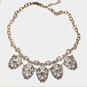 J. Crew Jeweled Statement Necklace